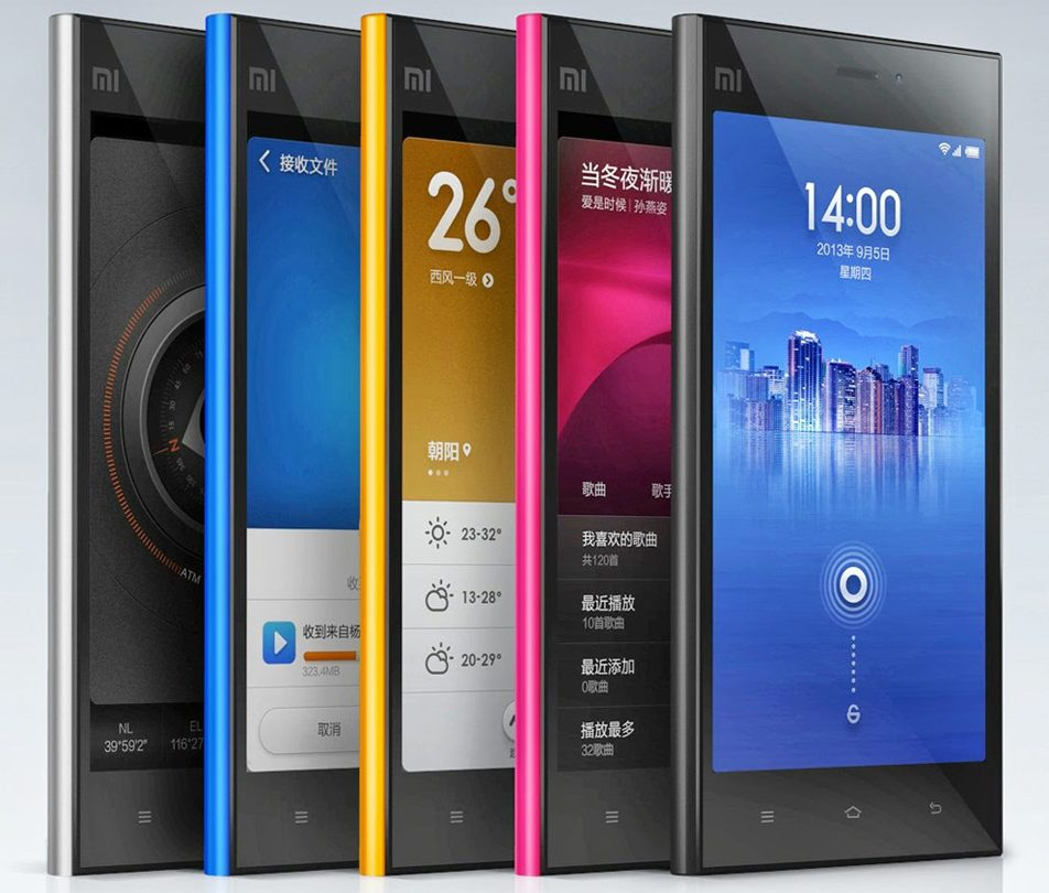 Xiaomi Mi3S Specs