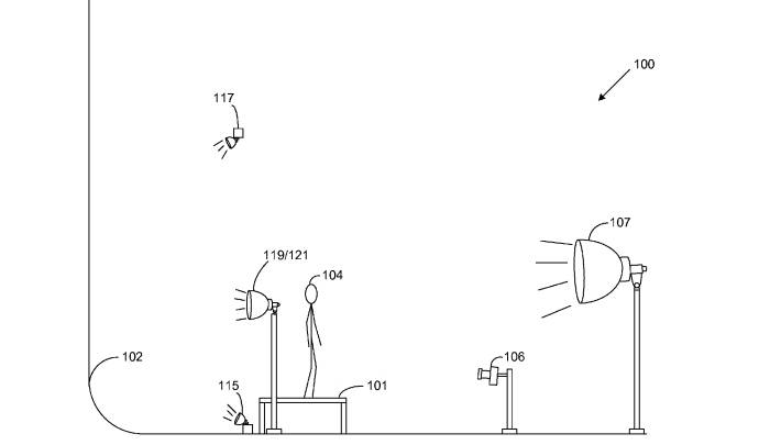 Amazon Photography Background Patent