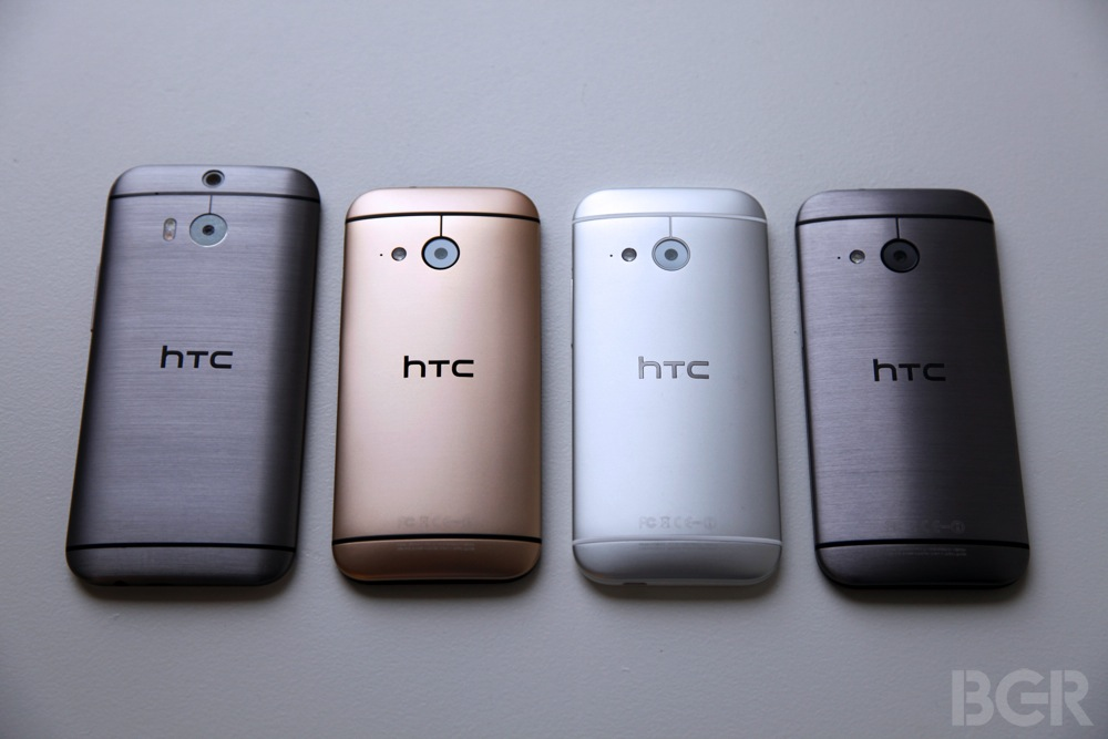 ... HTC announced its second new hero phone of 2014: The HTC One mini 2