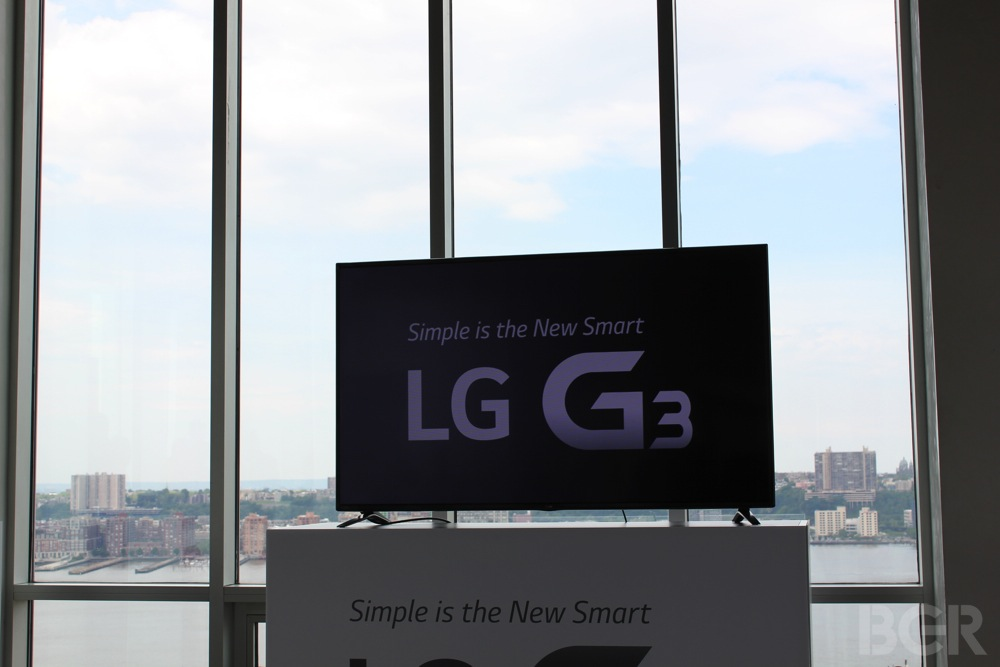 LG G3 Liveblog