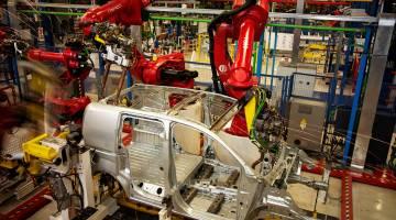 Toyota Car Factory Robots