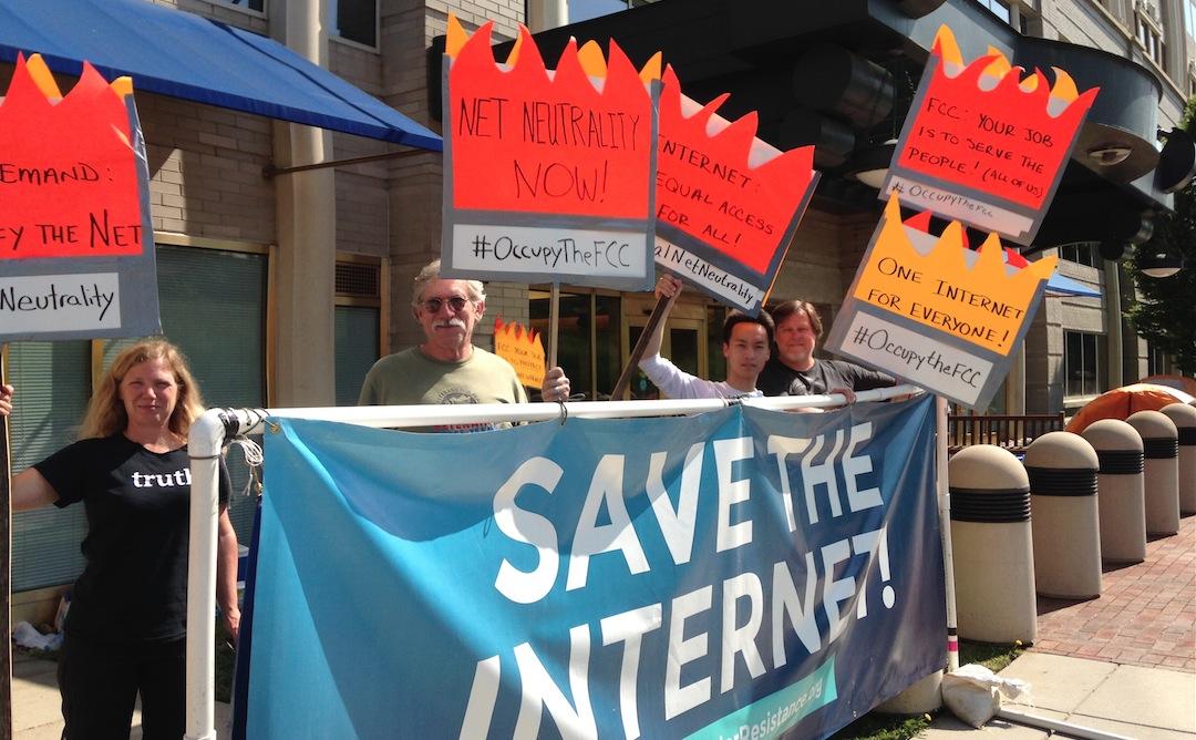 FCC Net Neutrality Protest