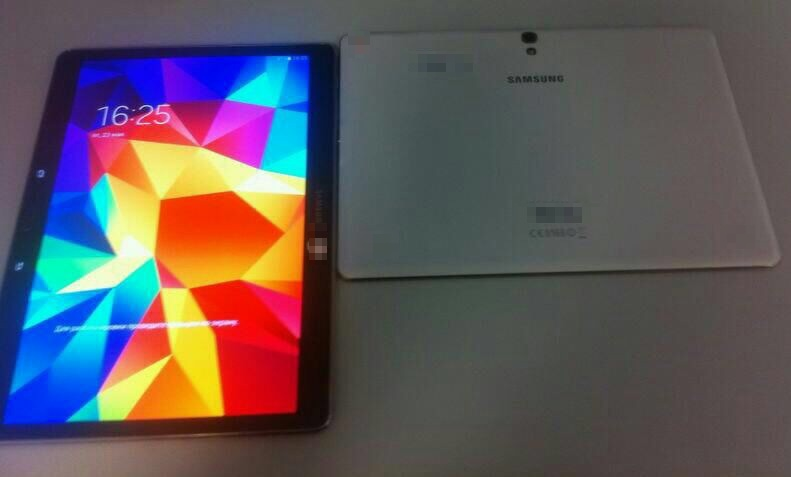Galaxy Tab S Display Leak