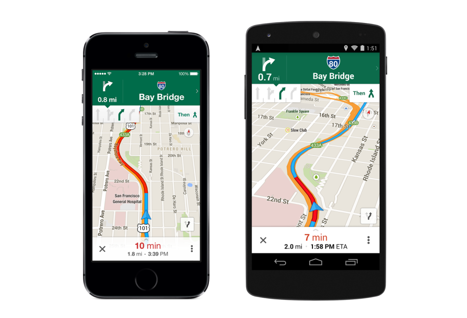 Google Maps Update New Features