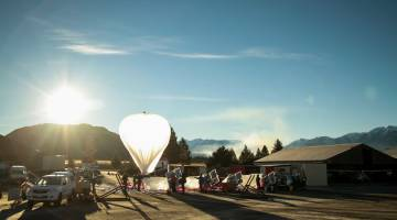 Google Project Loon Space Data
