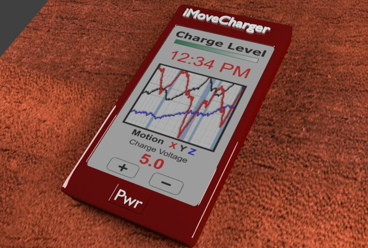 iMoveCharger Smartphone Motion Charger