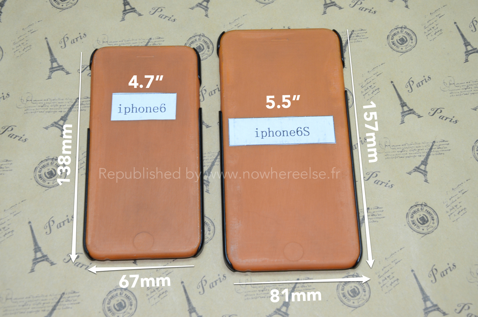 New leak might show us the 5.5-inch iPhone 6's exact dimensions