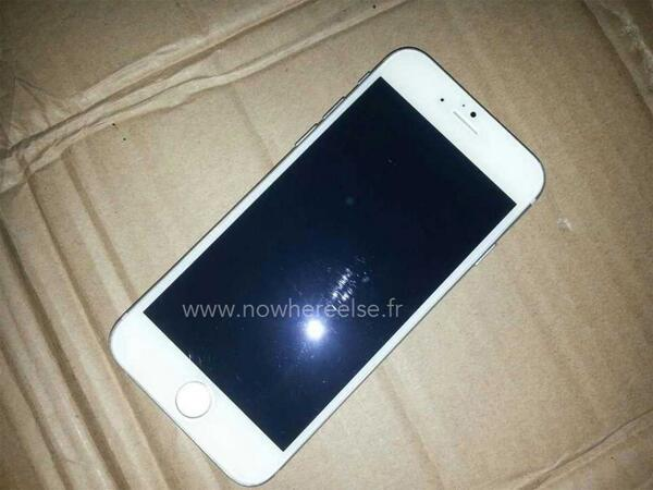 leaked photos of iphone 6 silver iphone 6 leaked photo bgr 1672