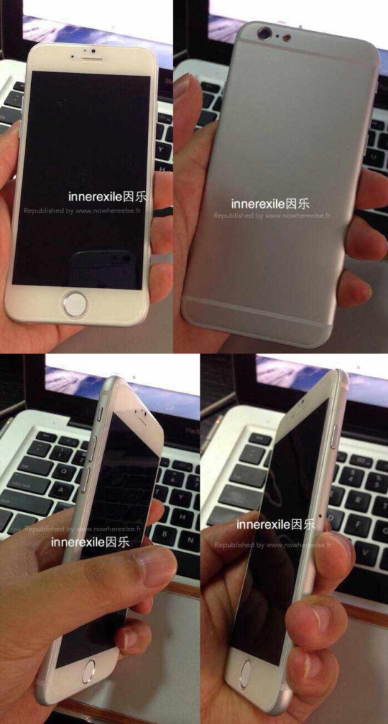 iPhone 6 Silver Mockup