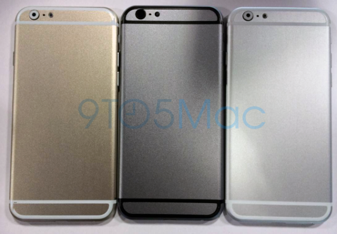shows completely redesigned iPhone 6 in space gray, gold and silver