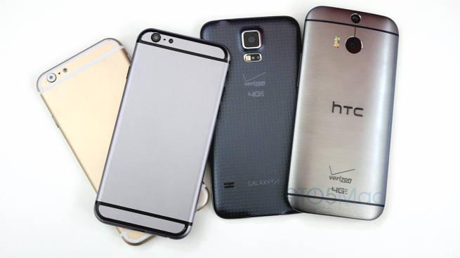 iPhone 6 vs Metal Samsung Galaxy