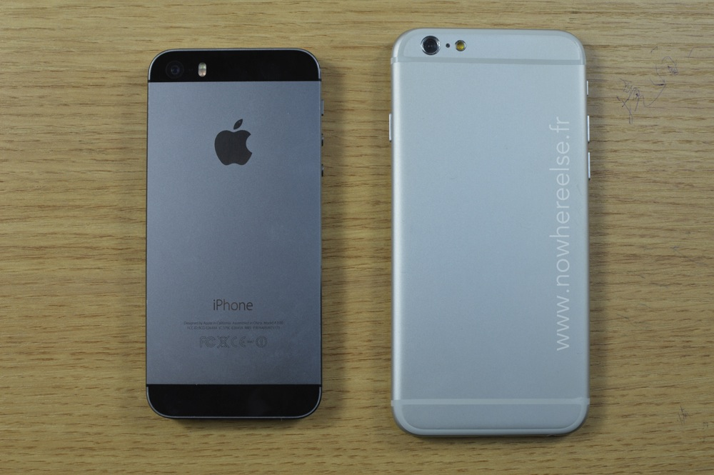 iphone 6 vs iphone 5s new details reveled in big iphone 6 leak bgr. Black Bedroom Furniture Sets. Home Design Ideas