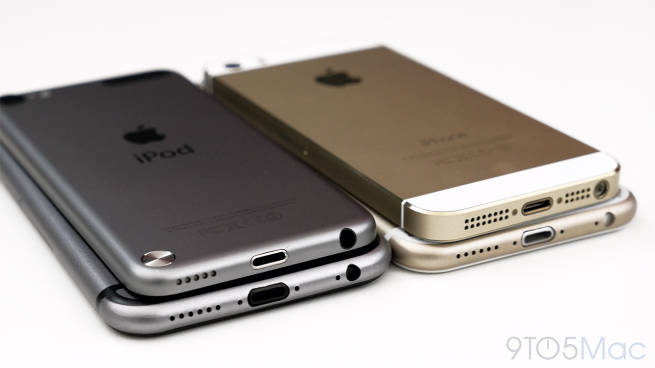 iPhone 6 vs iPhone 5s: design, size and color options