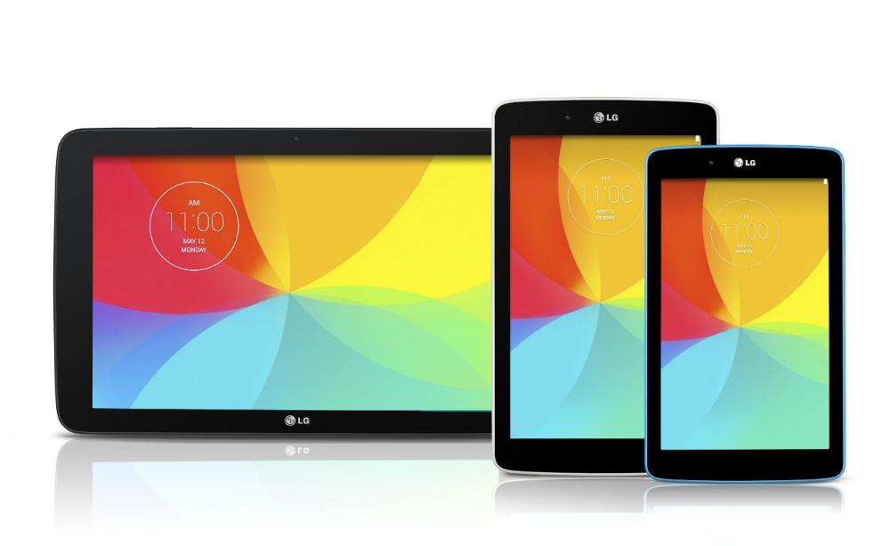 LG G Pad 10.1, 8.0, 7.0 Specs