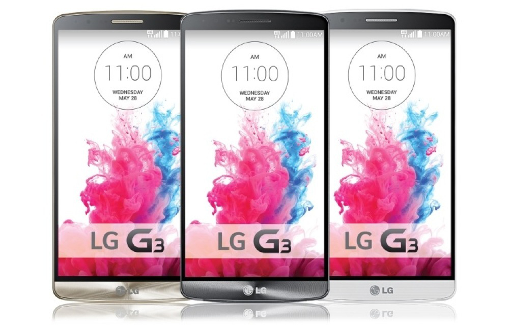 LG G3 Official Specs and Pictures