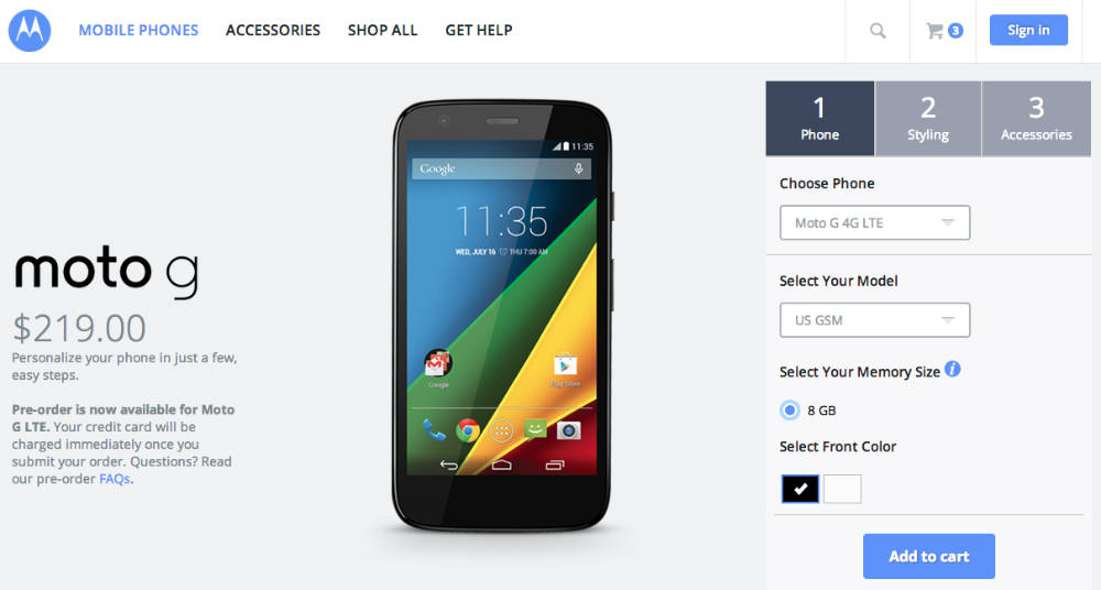 Moto G 4G LTE Specs, Price and Release Date