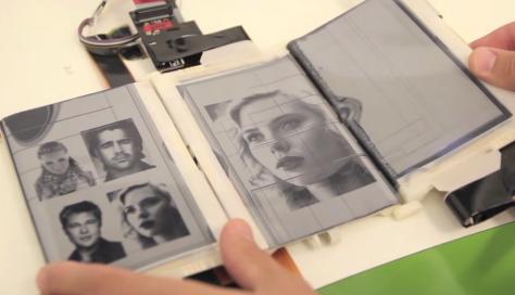 PaperFold Experimental Smartphone Design