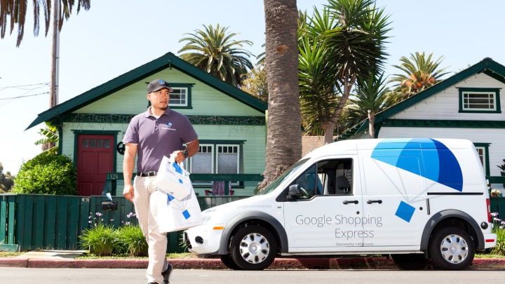 Google Same Day Delivery
