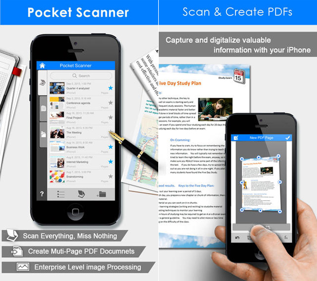 pocket scanner app