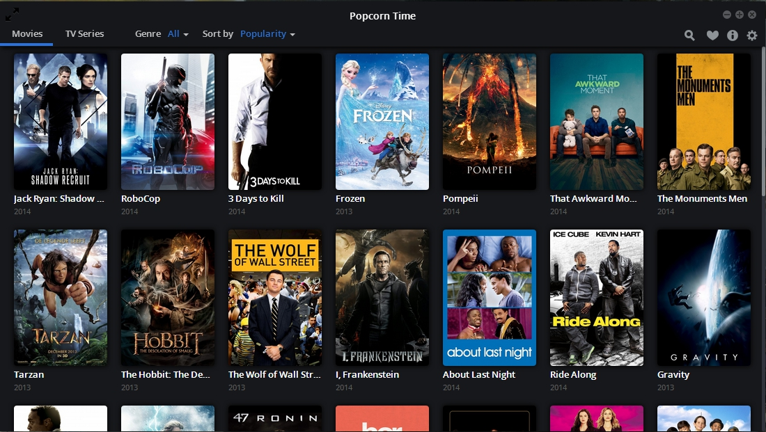 Popcorn Time Back Online
