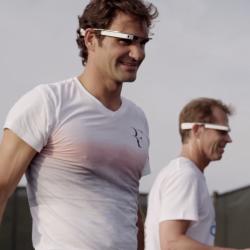 Google Glass Roger Federer Video