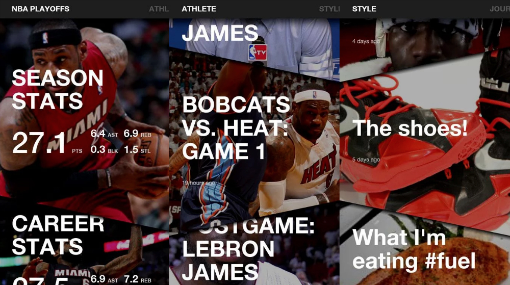 Samsung LeBron Android App