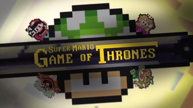Game of Thrones Super Mario World
