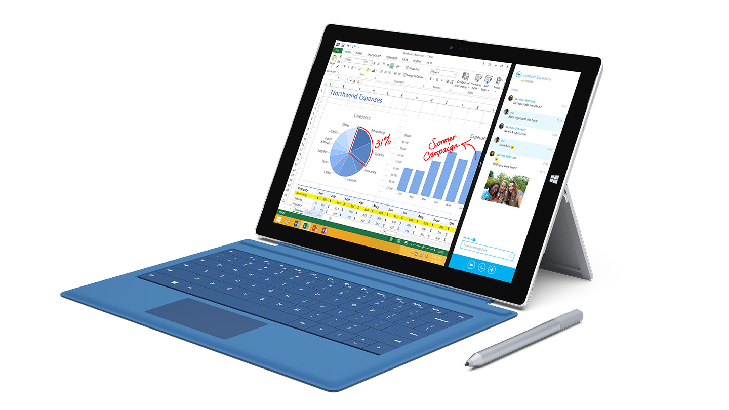 Microsoft Surface Pro 3 Specs and Features