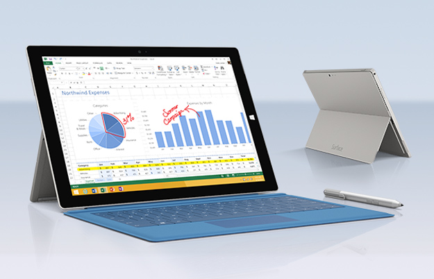 Microsoft Q1 2015 Earnings Surface