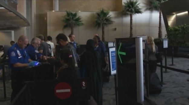 TSA Airport Security Check Homeland