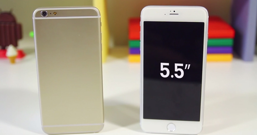 iPhone 6 Phablet Display