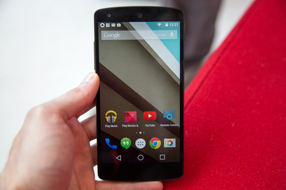 Android L Preview Animations