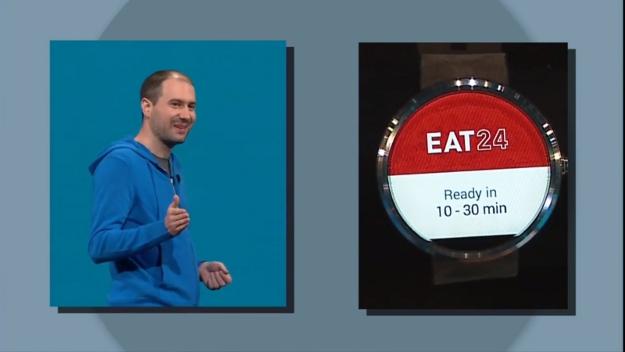 Android Wear Google IO 1
