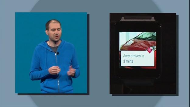 Android Wear Lyft