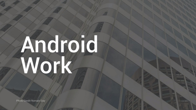 Android Work Enterprise Platform