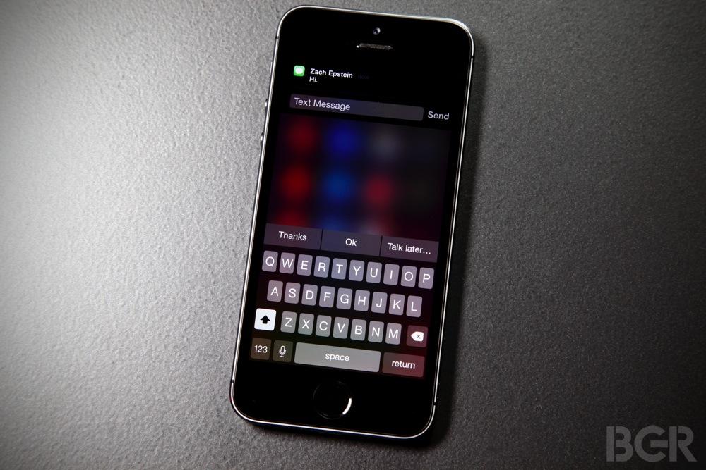 iOS 8 Notification Center Jailbreak