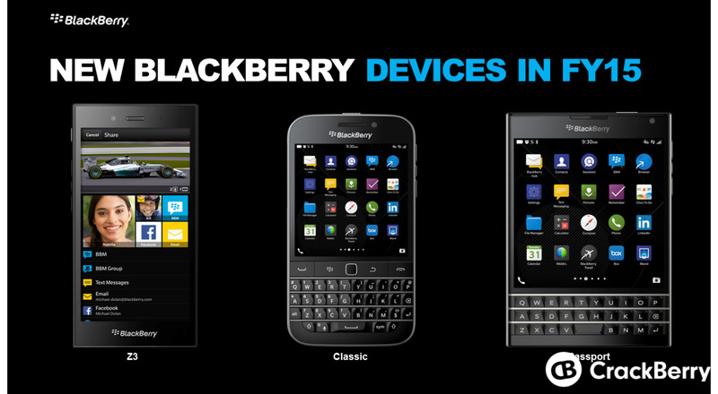 meeting on thursday the blackberry classic and the blackberry passport