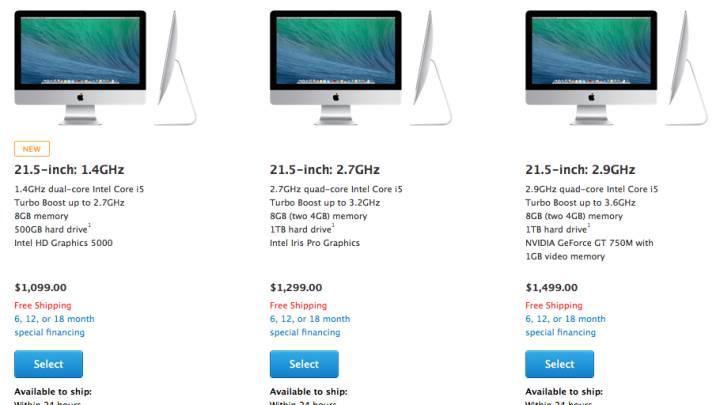 Cheaper iMac Specs and Price