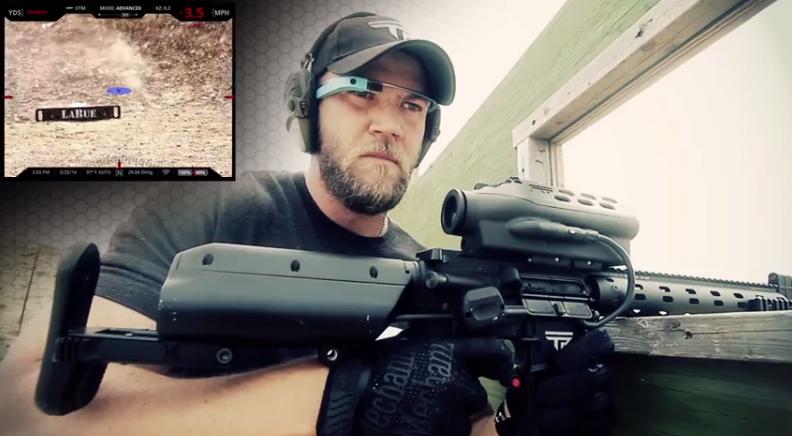 Google Glass Rifle Shooting