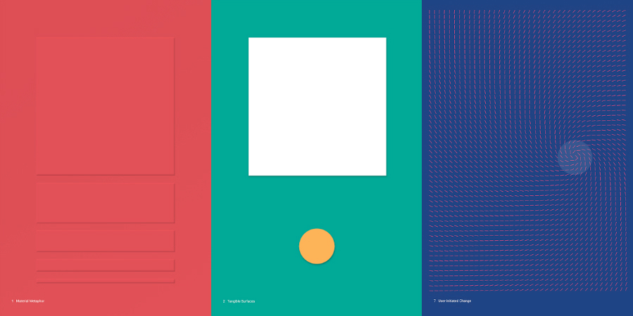 Google Material Design for Android L