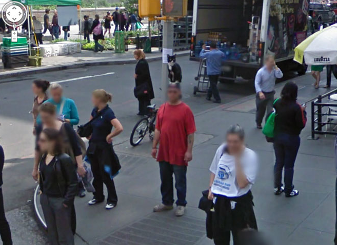 How To Blur Google Maps Images