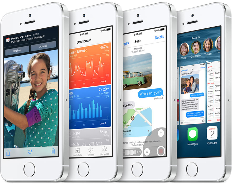iOS 8 vs iOS 7: Features and Design Comparison