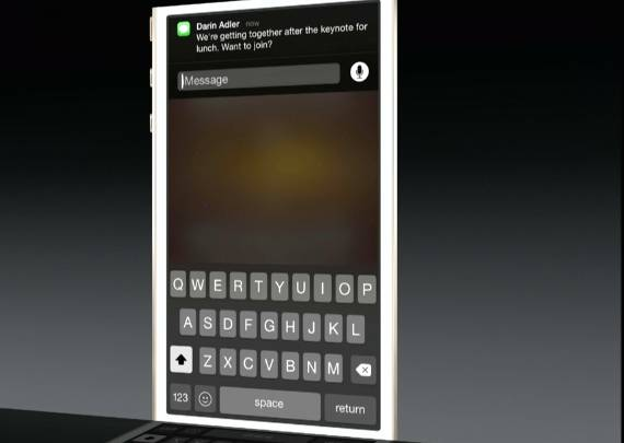 iOS 8 Actionable Notifications