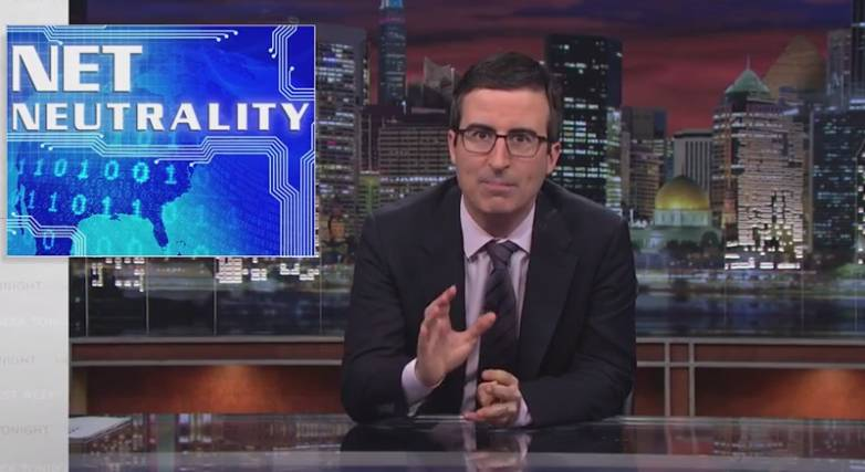 John Oliver Net Neutrality Video Appeal FCC