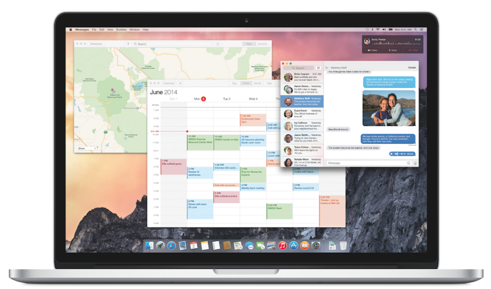 Yosemite iMessage Screen Sharing
