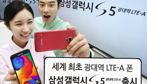 Samsung Galaxy S5 LTE-A Launch