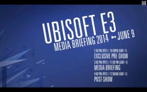 Ubisoft E3 2014 Press Conference