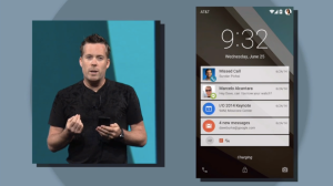 Android L Interactive Notifications Center