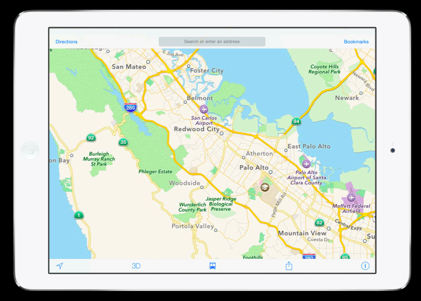 iOS 8 Apple Maps Flyover City Tours