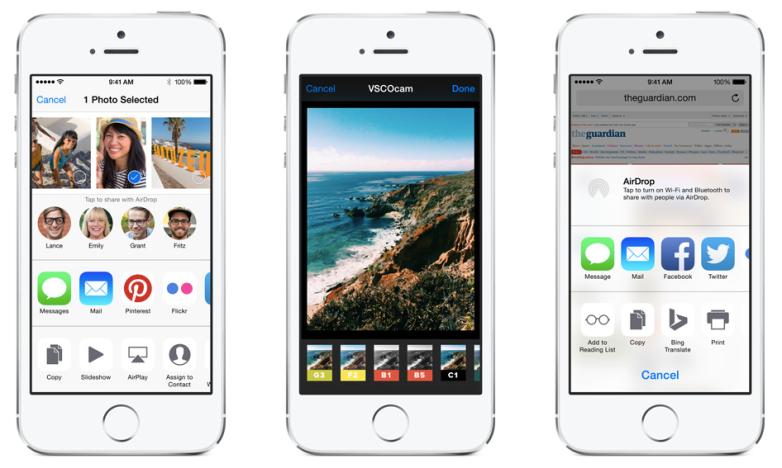 iOS 8.2 and iOS 8.3